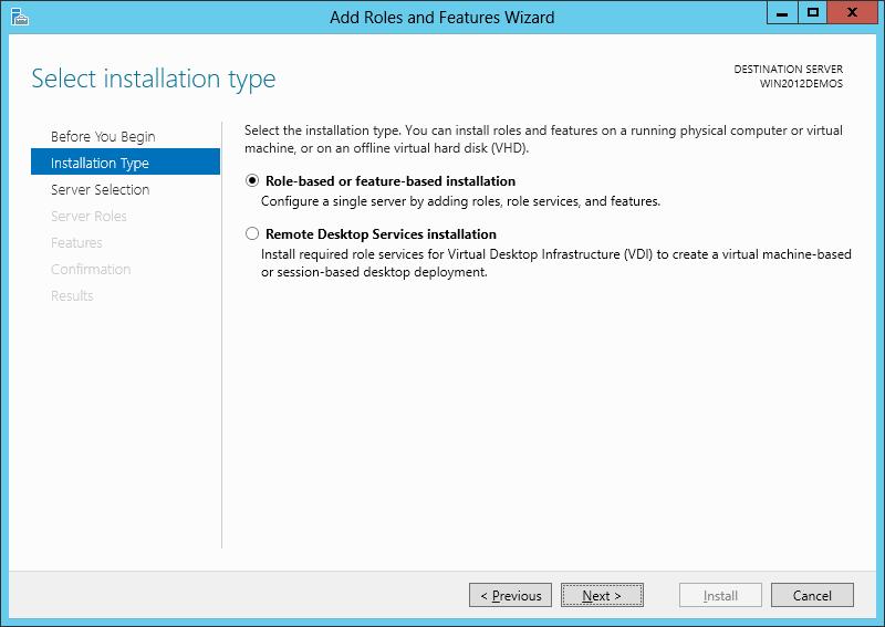 آموزش نصب IIS بر روی ویندوز سرور 2012 - تصویر سوم