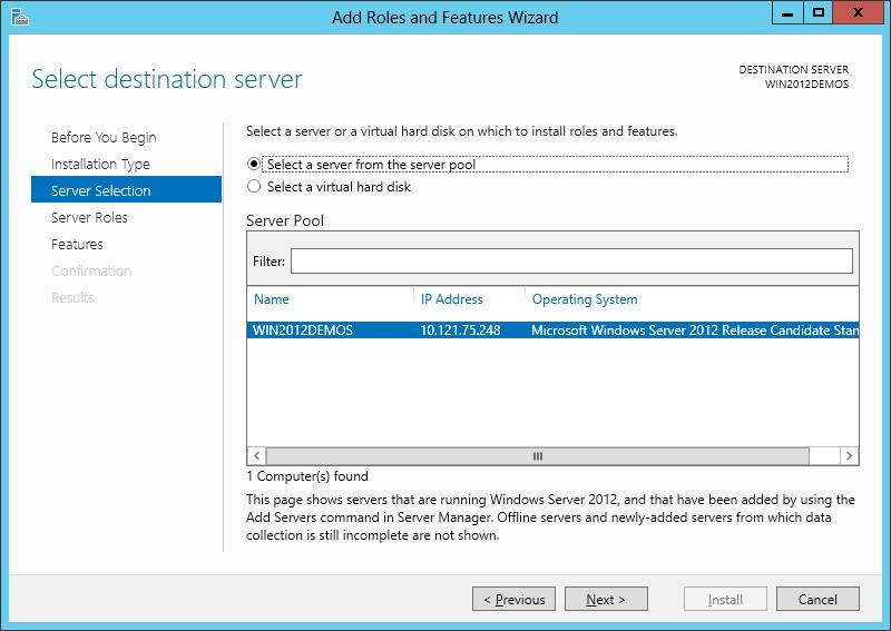 آموزش نصب IIS بر روی ویندوز سرور 2012 - تصویر چهارم