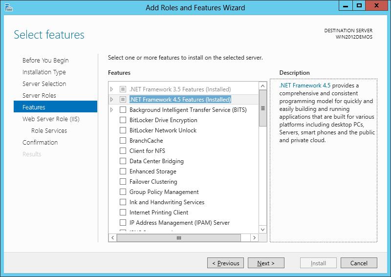 آموزش نصب IIS بر روی ویندوز سرور 2012 - تصویر ششم